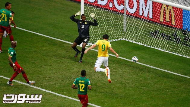 البرازيل الكاميرون 16