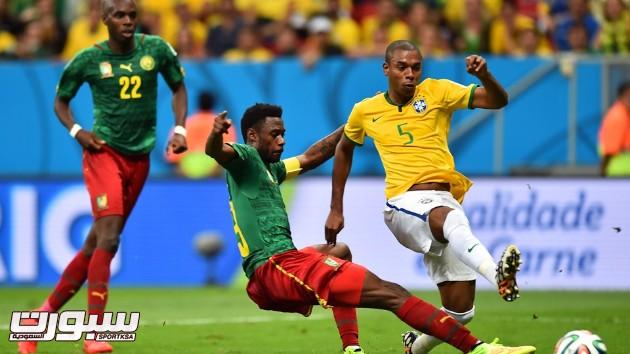 البرازيل الكاميرون 19