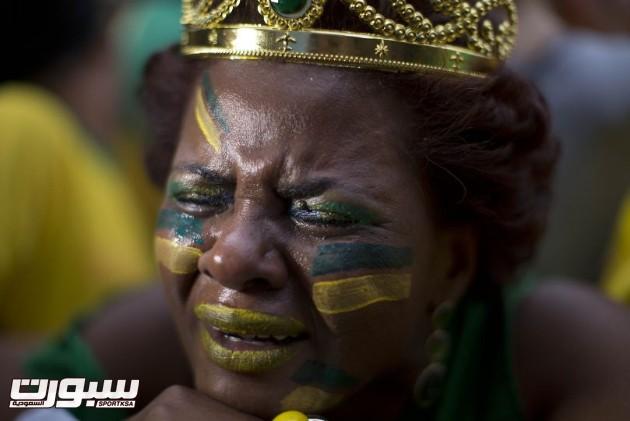 البرازيل المانيا بكاء 1