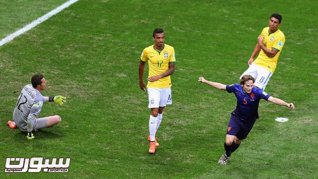 البرازيل هولندا 13 بليند