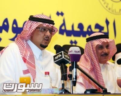 فيصل بن تركي رئيس نادي النصر كحيلان
