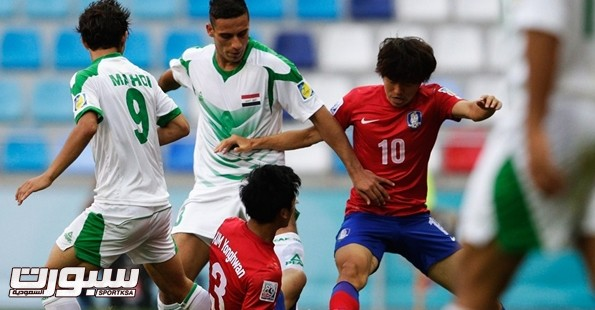 العراق كوريا الجنوبية شباب