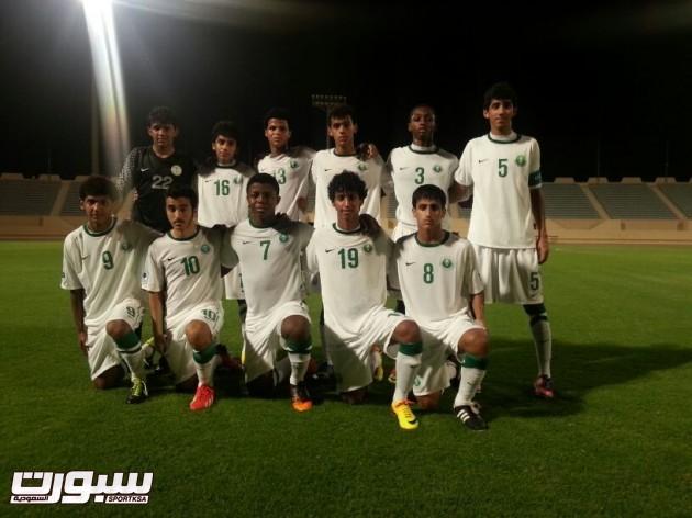 المنتخب السعودي لناشيئن