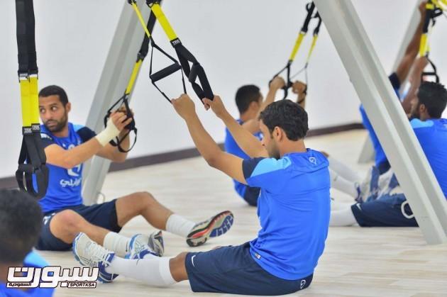 تدريبات الهلال (3) 