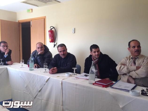 زيارة المهدية للاعداد للبطولة العربية للاندية (2)