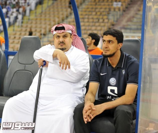 عبدالرحمن بن مساعد و فهد المفرج