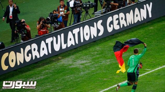 فرحة المانيا بكأس العالم 2014 - 3
