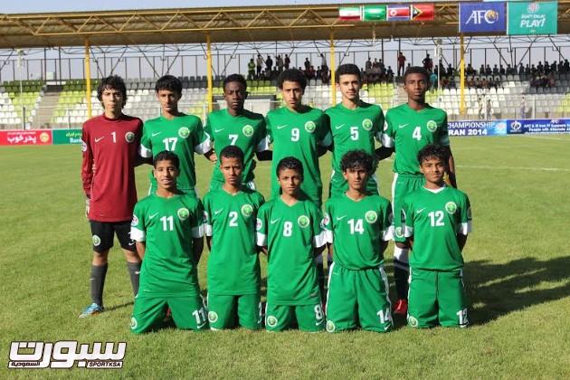 منتخب البراعم السعودي 2014