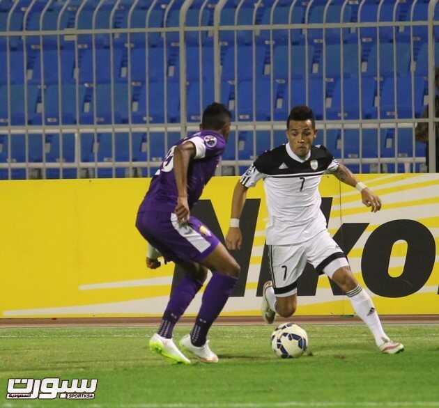 صور من لقاء الشباب و العين الإماراتي
