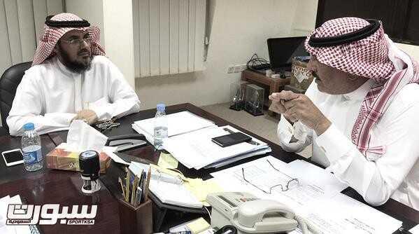 اجتماع رئيس بلدية دومة الجندل