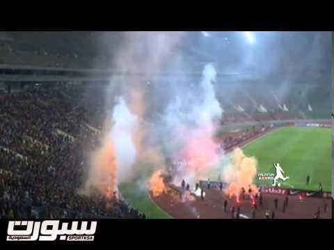 أحداث الشغب في مباراة ماليزيا و السعودية