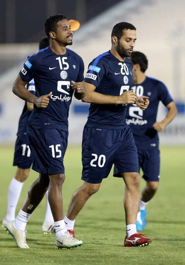 ياسر القحطاني و ناصر الشمراني
