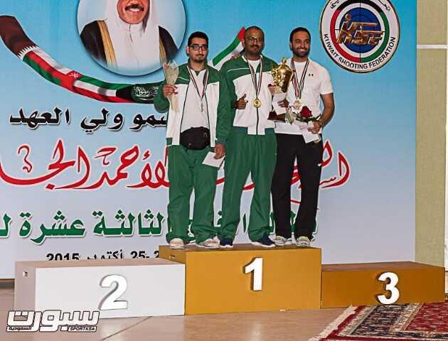 عبدالاله بن علي ينتزع ذهبية منافسات القوس الاولمبي للسهام