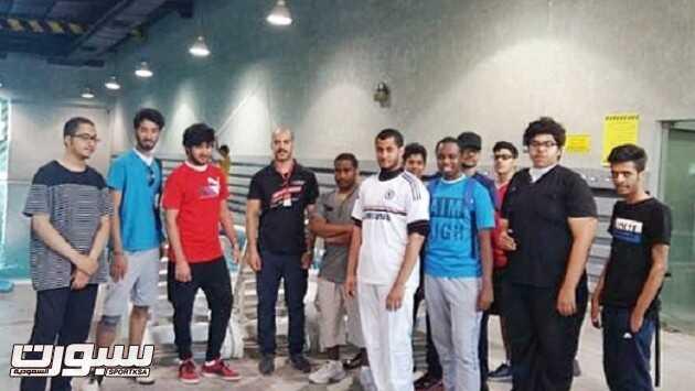 طلاب جامعة الملك فيصل بالأحساء بزيارة فرع وقت اللياقة بالأحساء